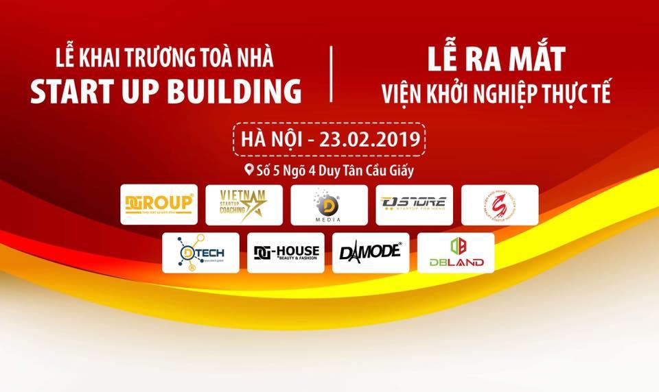 THƯ MỜI LỄ KHAI TRƯƠNG STARTUP BUILDING 2 TẠI HÀ NỘI