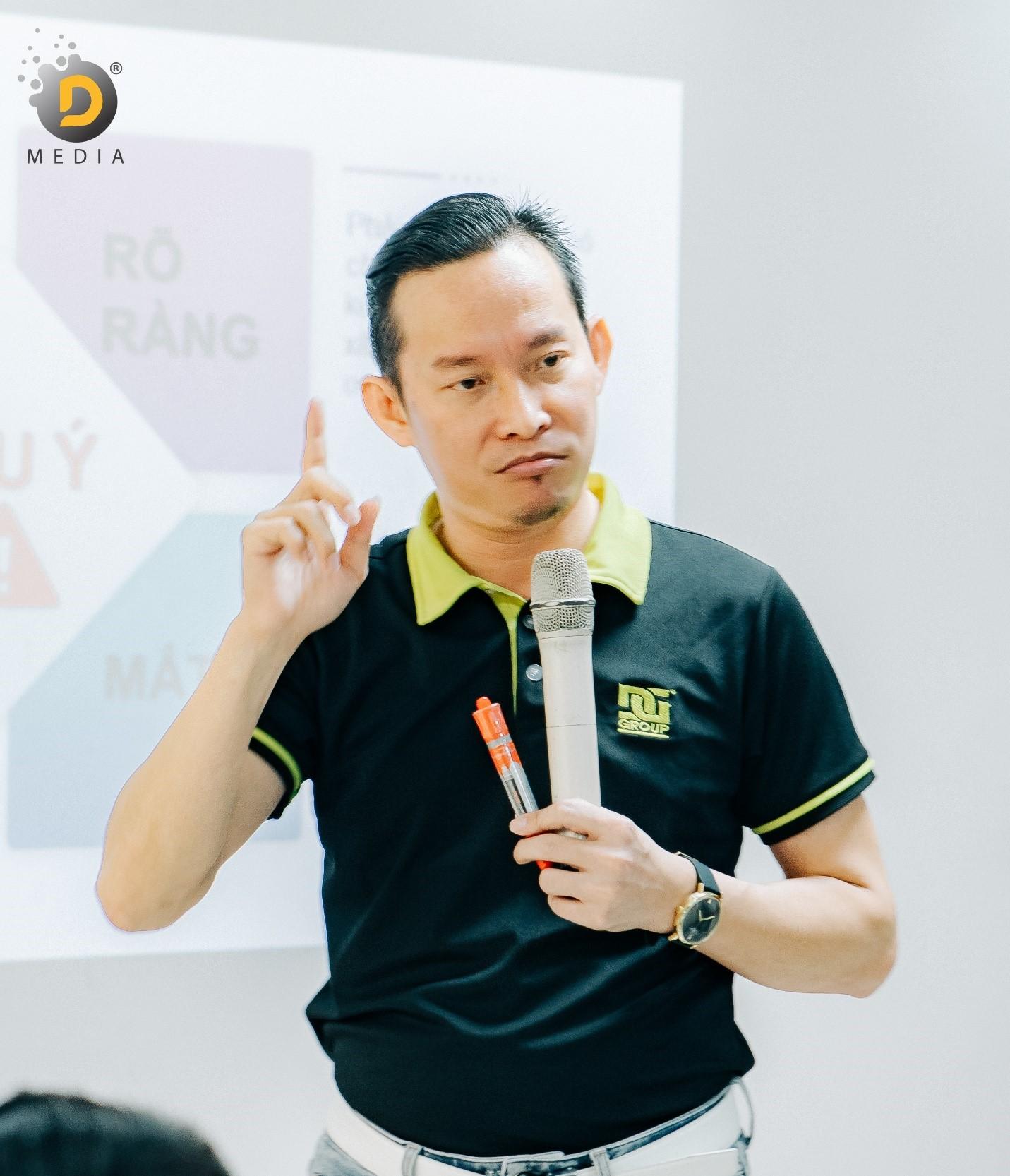 Doanh nhân Hồ Huỳnh Duy và tâm huyết với câu chuyện xây dựng văn hóa doanh nghiệp
